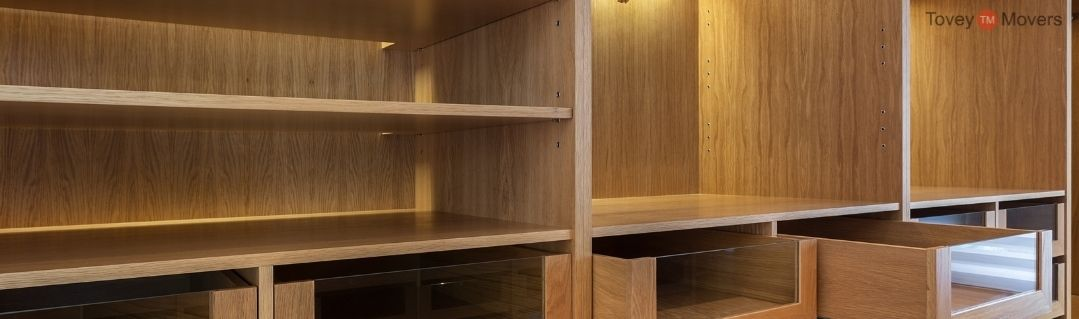 Empty Shelves and Drawers